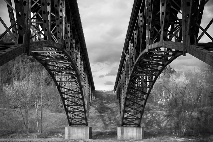 Photo of Vermont Bridge No. 9 by Joshua Farr at Catherine Dianich Gallery